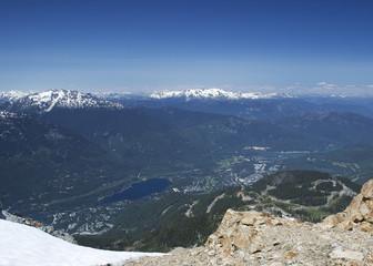 Whistler from Whistler Mountain 01