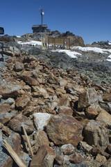 Near the top of Whistler Mountain