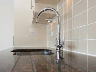 Kitchen Sink on Granite Worktop
