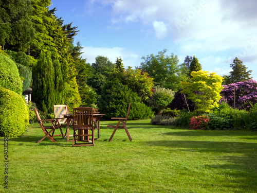 Foto op Canvas Tuin English Garden