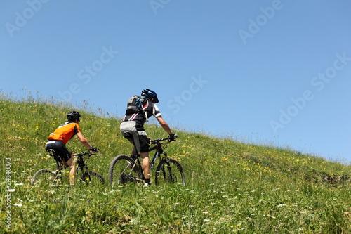 vélo en couple
