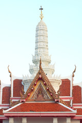 The pavilion in big temple, south of Thailand.