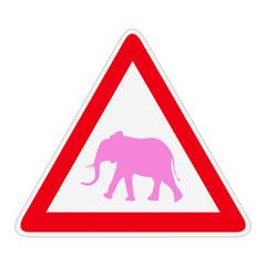 Attention aux éléphants roses