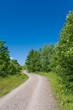 Landschaft, Radweg, Sommer