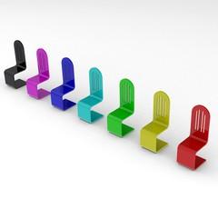 Stühle im Wandel