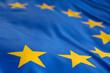 Leinwandbild Motiv Europaflagge