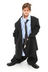 Baggy Suit Girl