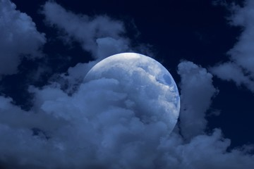 Moon rebirth