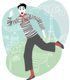 Mime in Paris