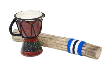 Rain Stick and Drum