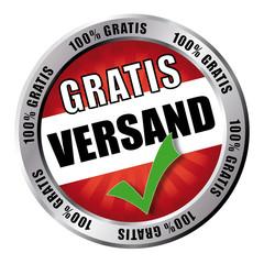 Button - Gratis Versand