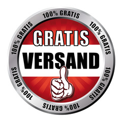 Gratis Versand - Button
