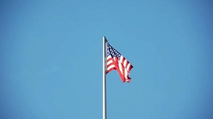 Star-Spangled Banner 3 - powerless US American Flag