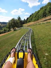 Sommer-Rodelbahn