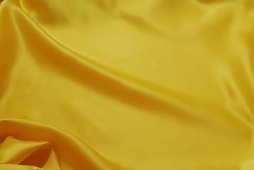 Efectos de luz en tela amarilla
