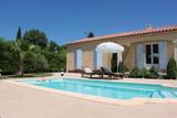 Fototapety Villa avec piscine