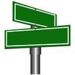 Blank Street Signs - 24369428