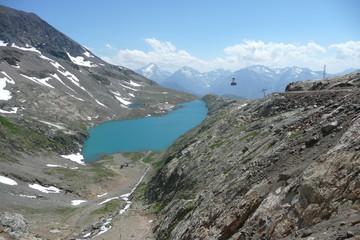 Accès au Pic Blanc