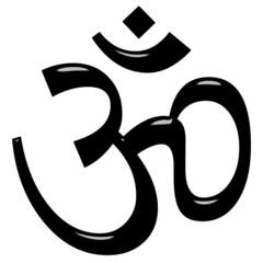 3D Hinduism Symbol