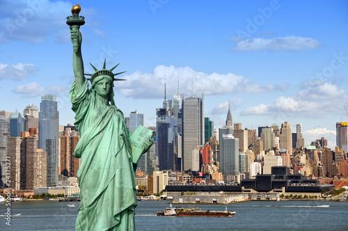 Nowy Jork cityscape, fotografia koncepcji turystyki