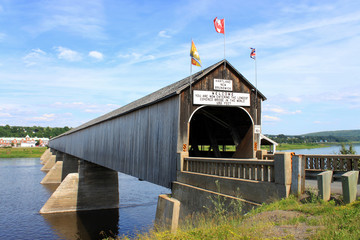 The longest covered bridge in the world