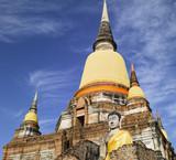 Thailand - Ayutthaya   Wat Yai Chai Mongkon