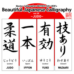 Kanji - Beautiful Japanese Calligraphy vol.28
