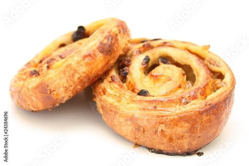 Papiers peints Boulangerie deux pains aux raisins