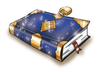 Libro di incantesimi chiuso