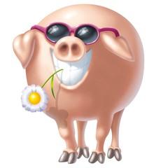 pig rosa