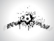 abstract football creative design
