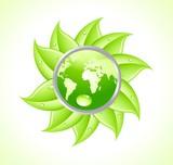 environment Globe poster