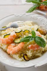 cous cous shrimp zucchinis - cous cous gamberi zucchini