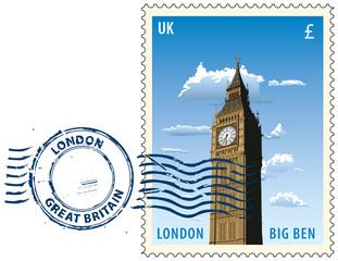 Postmark from London