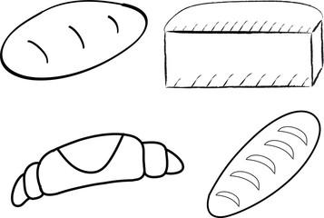 Bread. Vector image