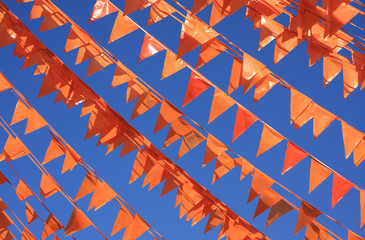 Orange flags