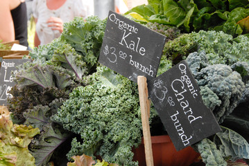 Kale at the Saturday Market