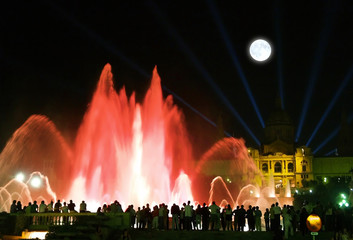 Montjuic (magic) fountain