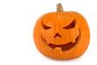 Freigestellter Halloween-Kürbis