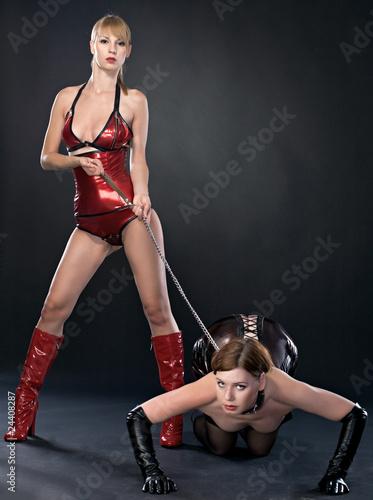 beauty fetish bdsm woman in dresses