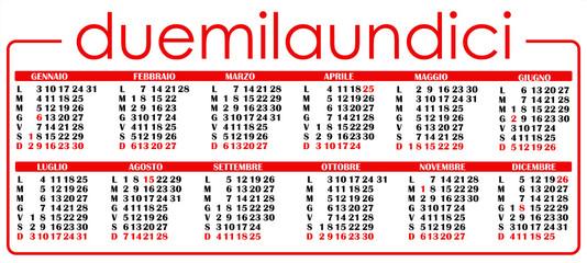 calendario 2011 3
