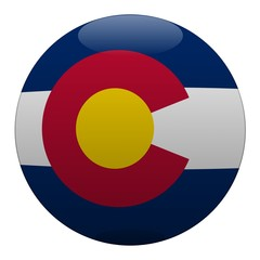 boule colorado ball drapeau flag