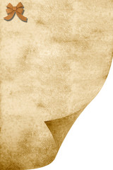 fondo papel pergamino antiguo sepia lazo