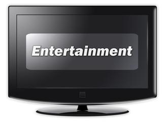 "Flatscreen TV ""Entertainment"""