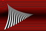 Fotoroleta 3D linie półtonów, tło, czerwony, nowoczesny projekt