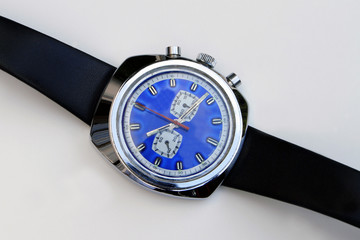 Vintage 1970's Mens Chronograph mechanical wristwatch