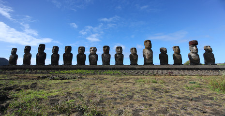 Ahu Tongariki on Easter Island