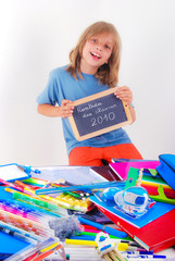 Achat fournitures scolaires 2010