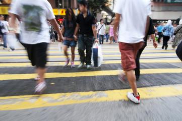 Hong Kong crossing