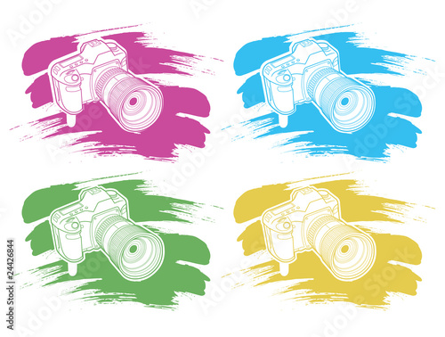 camera with brush